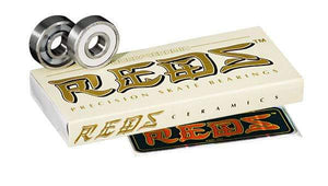 Bones Ceramic Super Reds Bearings 16 Pack - Bladeworx