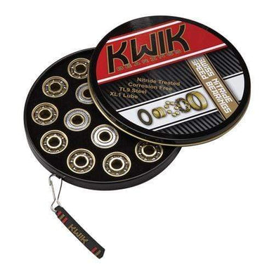KWIK Swiss Nitrade Bearings 16 Pack 8mm - Bladeworx