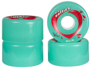 Bladeworx Chaya Big Softies Outdoor Wheels : 65mm 78a 4pk : Choice of Colour