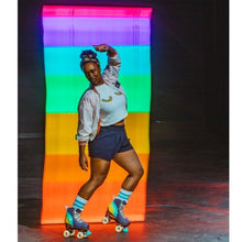 Load image into Gallery viewer, Bladeworx CHAYA MELROSE ELITE LOVE IS LOVE ROLLER SKATES
