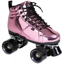 Load image into Gallery viewer, Bladeworx CHAYA VINTAGE PINK LASER ROLLER SKATES, NEW! JUST IN