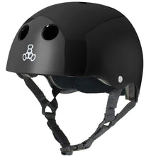 Load image into Gallery viewer, Bladeworx Helmet Black Gloss / XS/S Triple 8 Dual Certified Helmet
