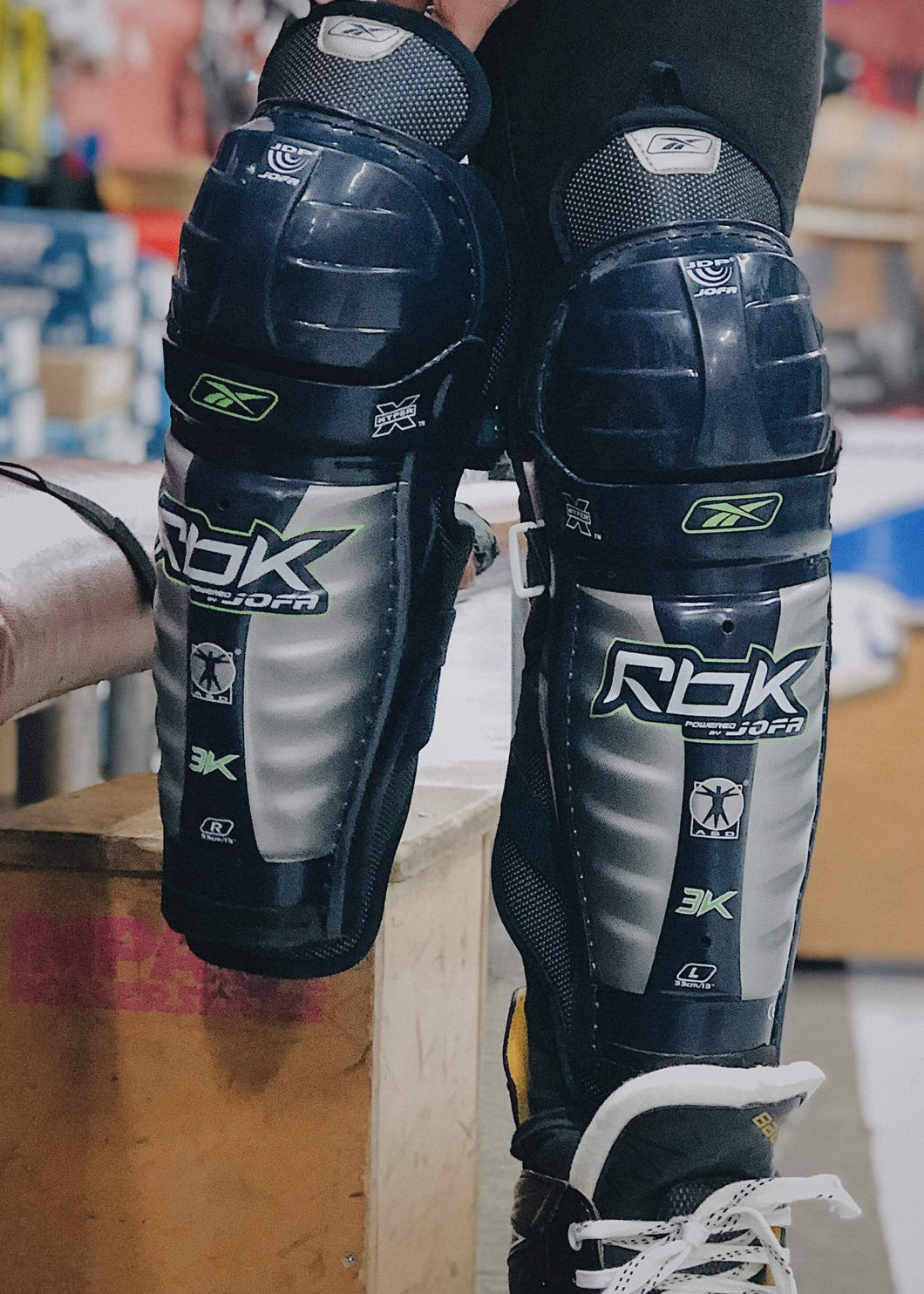 Reebok 3K Shin Guards - Bladeworx