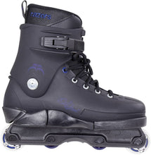 Load image into Gallery viewer, Bladeworx inline skates 7 RAZORS Cult Navy