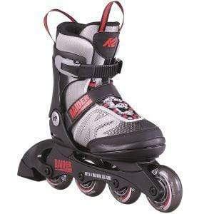 K2 Raider Black Kids Adjustable Inline Skates - Bladeworx