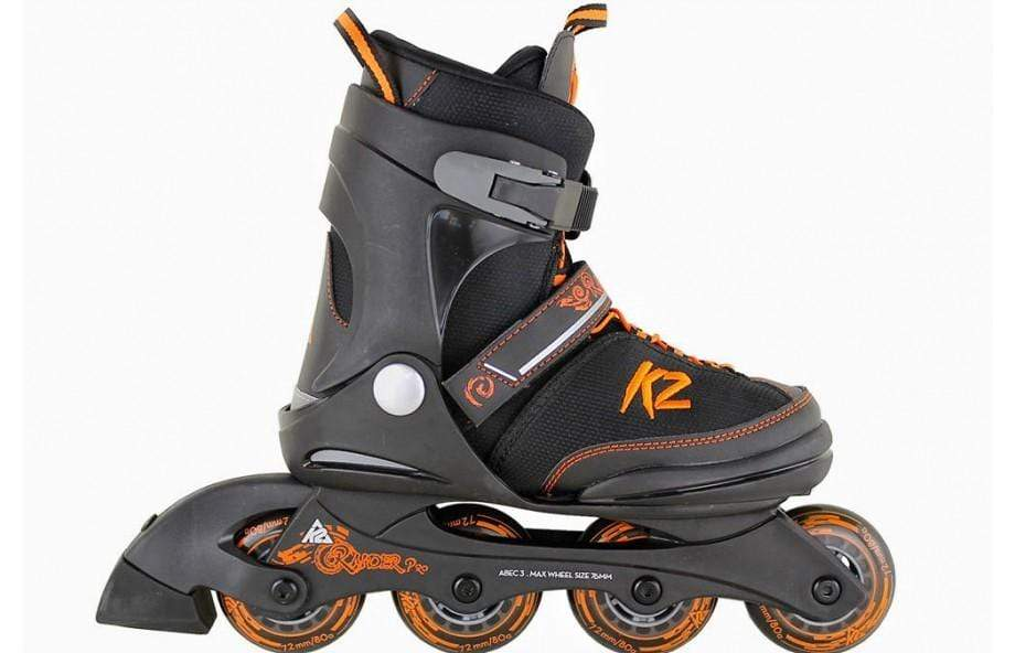 K2 Raider Pro Black Kids Adjustable Inline Skates - Bladeworx