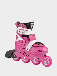 SEBA Junior Kids Adjustable Inline Skates - Pink - Bladeworx