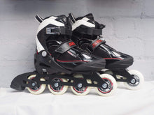 Load image into Gallery viewer, SEBA Soft Junior Adjustable Inline Skates - Black - Bladeworx