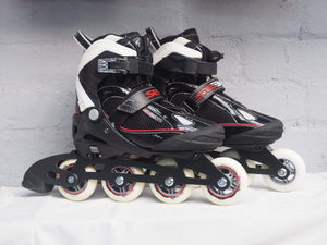 SEBA Soft Junior Adjustable Inline Skates - Black - Bladeworx