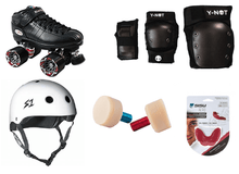 Load image into Gallery viewer, Bladeworx Package Roller Derby Starter Package : Riedell R3
