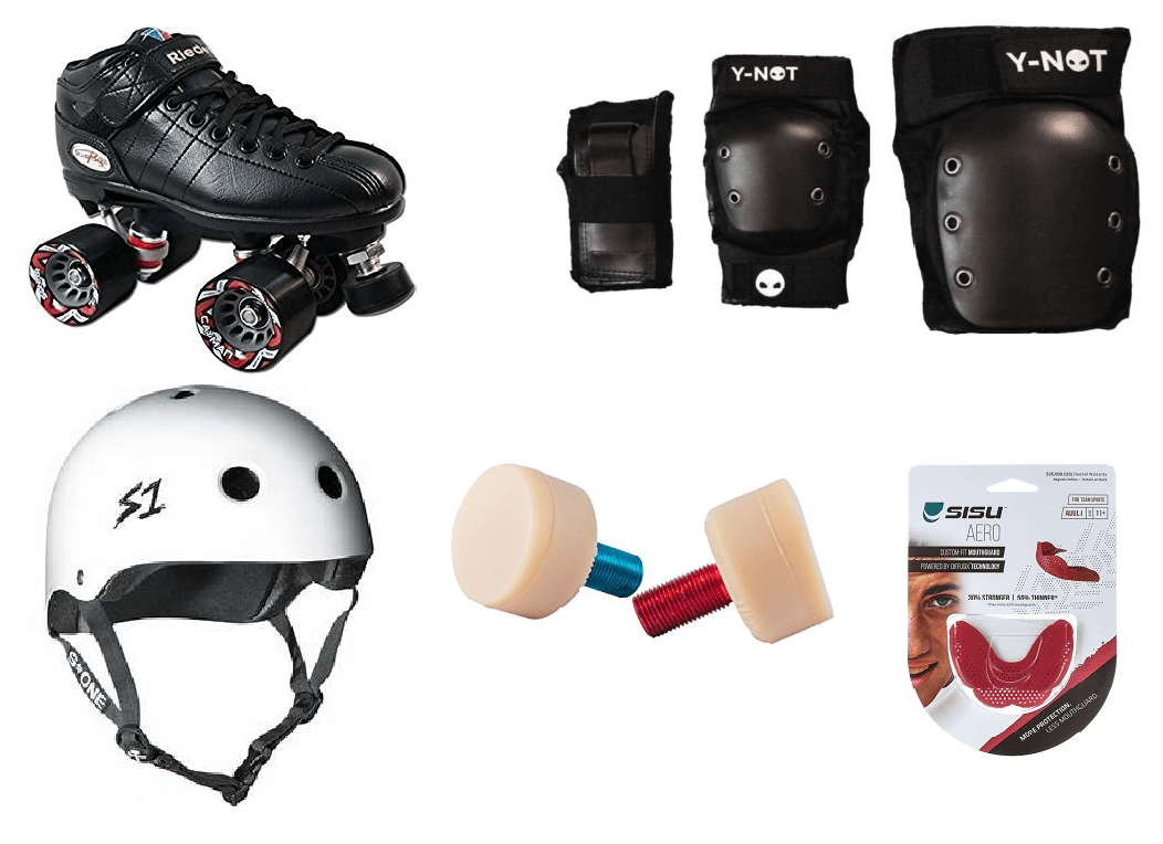 Bladeworx Package Roller Derby Starter Package : Riedell R3