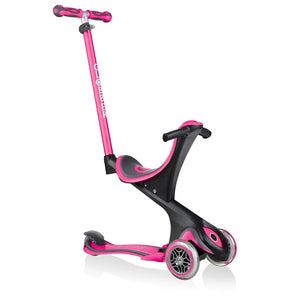 Bladeworx Pink GLOBBER GO UP COMFORT Evo 4 in 1 Scooters