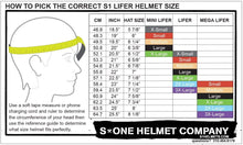 Load image into Gallery viewer, Bladeworx protective S-One Lifer Helmet Liner
