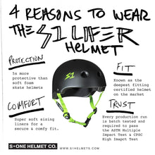 Load image into Gallery viewer, Bladeworx protective S-One Lifer Helmet w Visor