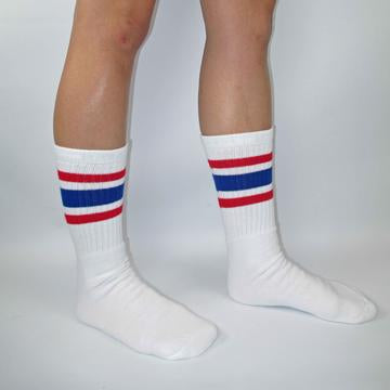 Bladeworx Red/Blue Skater Socks 19