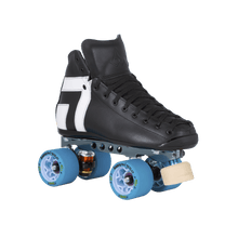 Load image into Gallery viewer, Bladeworx Roller Skate Antik AR2 Black w/ Pro Reactor Plate 'Derby Package'