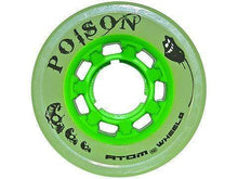 Load image into Gallery viewer, Bladeworx Roller Skate Wheels ATOM POISON QUAD WHEEL 62MM