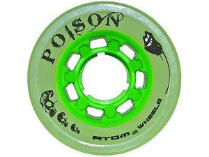 Bladeworx Roller Skate Wheels ATOM POISON QUAD WHEEL 62MM