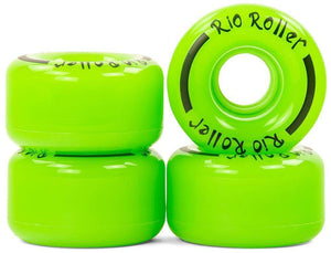 Bladeworx Roller Skate Wheels Rio Coaster Wheels : 58mm 82a 4pk