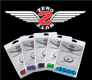 Bladeworx Skate Accessories Black SUREGRIP ZERO NUTZ 8MM 8PACK
