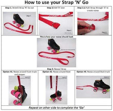 Load image into Gallery viewer, Bladeworx Strap 'n' Go Skate Leash : Patterns