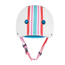 Load image into Gallery viewer, Bladeworx XS/S / Stripey Moxi Triple 8 Certified Helmet : Leopard or Stripes