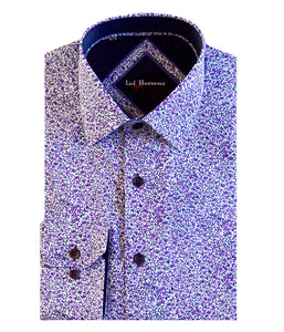 Lief Horsens Floral Dress Shirt