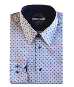 Lief Horsens Digital Square Dress Shirt