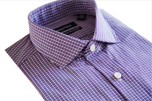 Nautica Gingham Dress Shirt