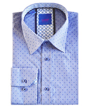 Load image into Gallery viewer, Scoop Blue Dress Shirt