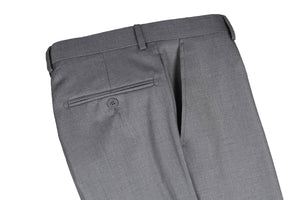 Men's Light Grey Slim Fit Pant