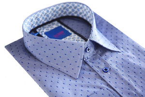 Scoop Blue Dress Shirt