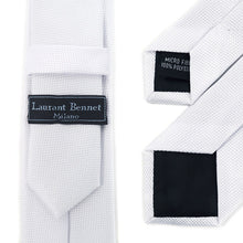 Load image into Gallery viewer, Laurant Bennet Skinny Poly Woven Tie