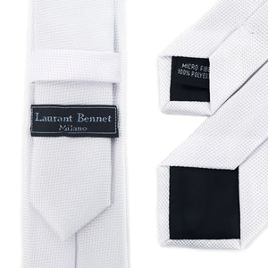 Laurant Bennet Skinny Poly Woven Tie