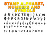 BROMELLO Font - Alphabet Embossing-Stamp