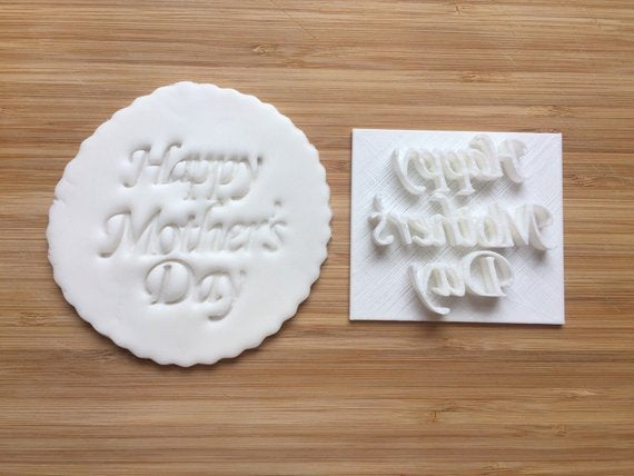 Happy Mother's Day - Embossing - stamp