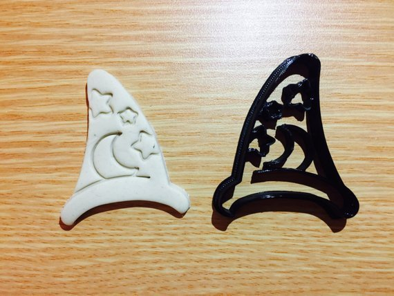 Wizard Hat Cookie Cutters Fondant cake decorating cupcake UK Seller