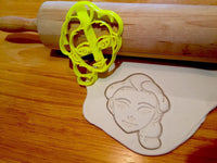 Elsa face Frozen-INSPIRED Cookie cutter