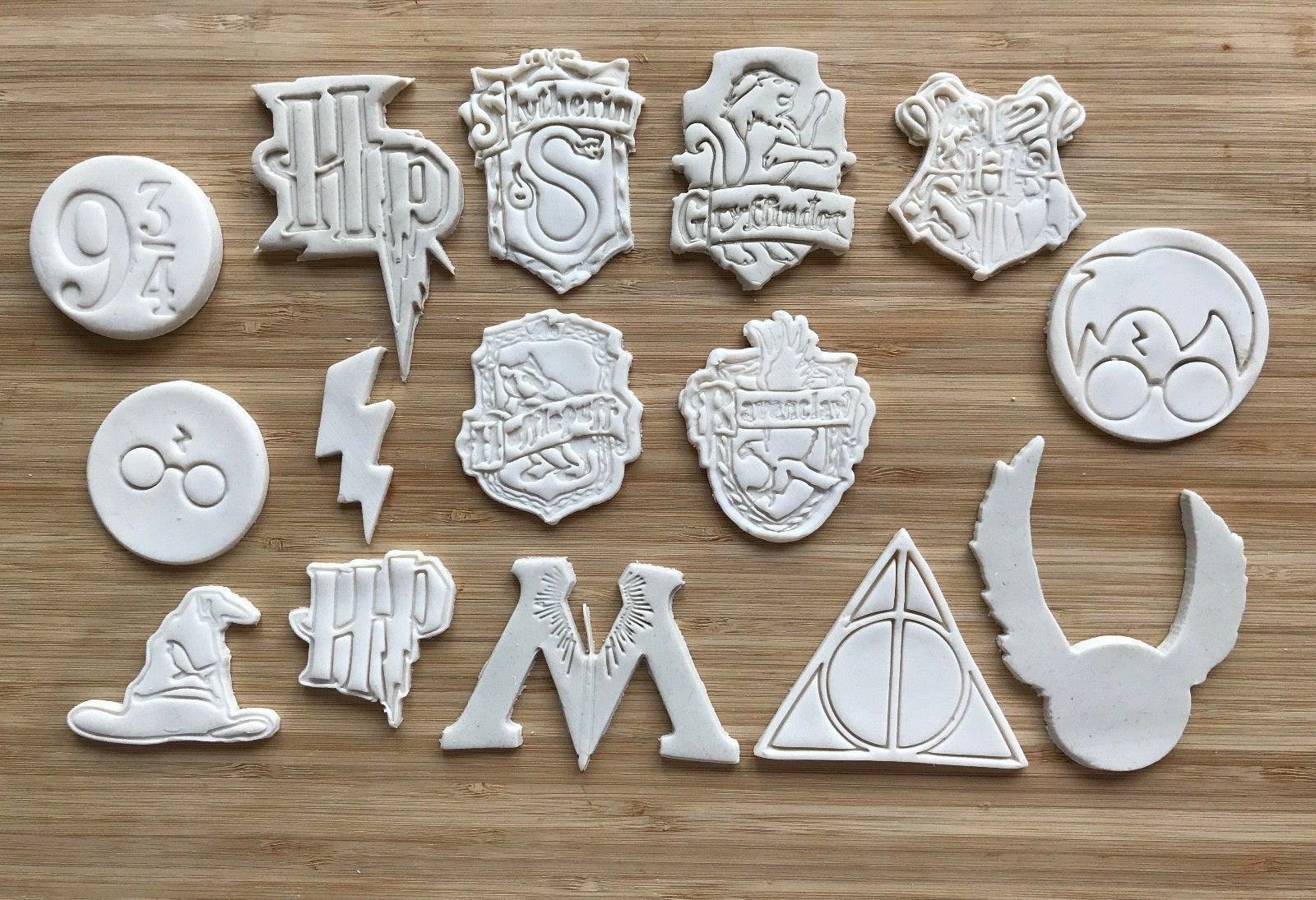 Fondant Cutter Pastry Cookie Cutter Harry Potter Biscuit