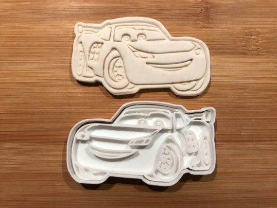 Lightning Mcqueen Cars Biscuit Cookie Cutter Fondant Cake Decorating UK seller