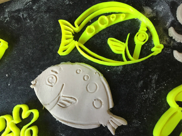 medium FISH sea animal Cookie cutter