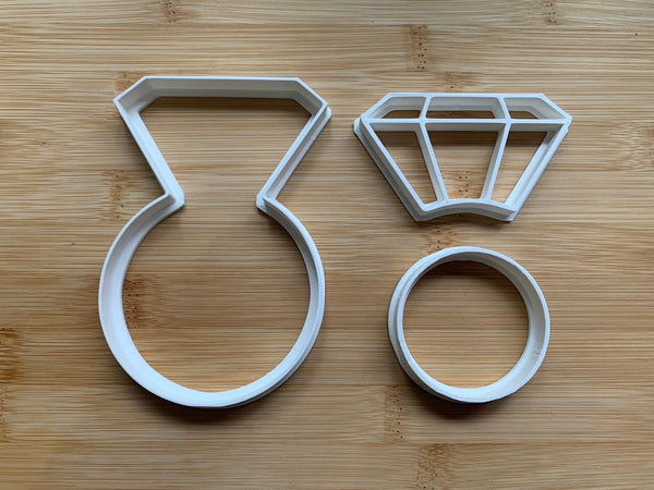 Ring Cookie Cutter fondant cake decorating