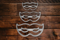 Masquerade Mask cookie cutter Fondant Cutter Cake Decorating 2 - 3 - 4 INCHES UK