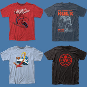 MARVEL COMIC TEES