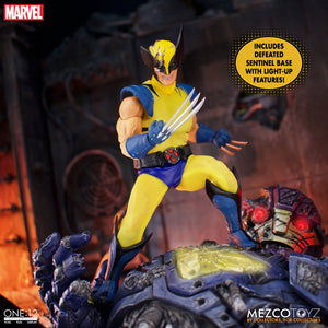 Mezco One:12 Collective Marvel Wolverine Deluxe Steel Box Edition FREE-SHIPPING / PRE-ORDER