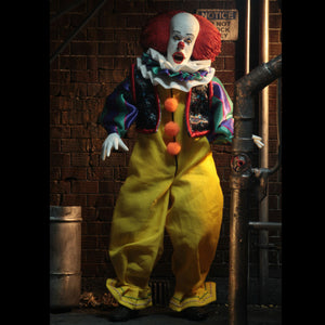 NECA 1990 IT Movie Clothed Pennywise 8 Inch Action Figure