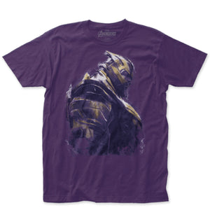 Marvel Avengers End Game Thanos Fitted T-Shirt