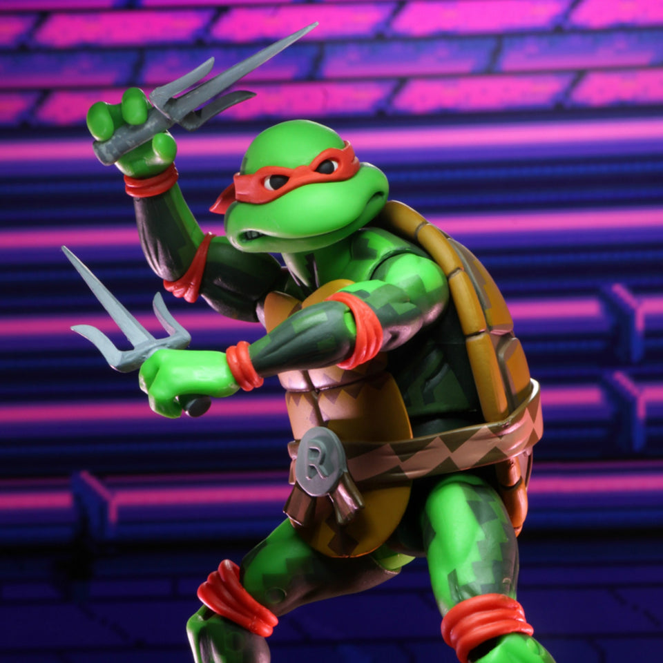 NECA TMNT Turtles in Time Series 2 Raphael 7 Inch Action Figure PRE-ORDER