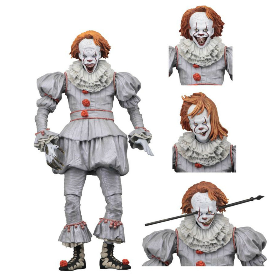 NECA Ultimate It 2017 Well House Pennywise 7 Inch Action Figure