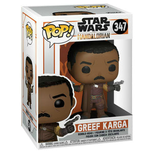 Star Wars Funko Pop! The Mandalorian Greef Karga Figure